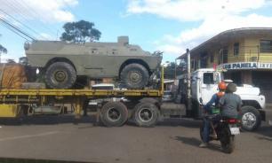 Соцсети: к границе Венесуэлы с Бразилией движется бронетехника
