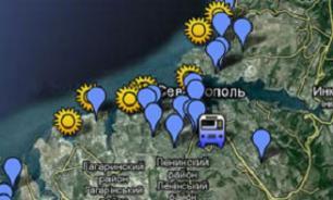 Проблемные места в Севастополе показали на интерактивной карте