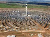 Солнечная электростанция, работающая ночью