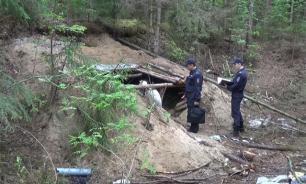 Костромич построил в лесу бункер для спасения от коллекторов. Фото