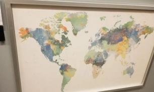 IKEA выпустила карту мира без Новой Зеландии