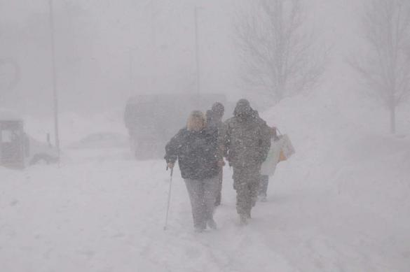 На Чукотке в снегу застряли 40 авто