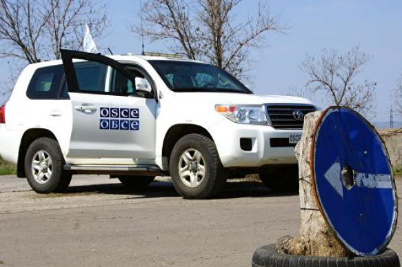 ВСУ обстреляли наблюдателей ОБСЕ под Донецком