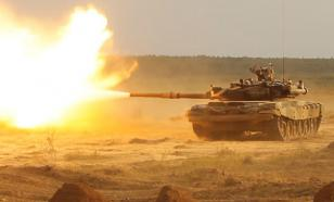 Китай использует российский танк Т-90С в качестве мишени на военных учениях