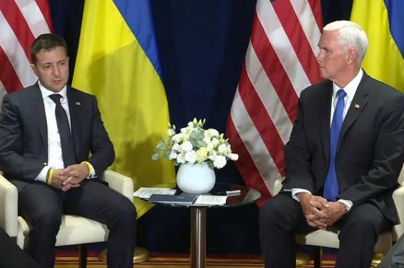 Зеленский сказал Пенсу, что верит в скорый мир в Донбассе