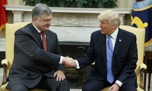 Порошенко пытался продать Трампу план военного переворота в Киеве?