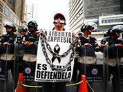 Пожар Майдана перекинулся на Венесуэлу