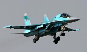 Спасатели предполагают, что обнаружили плот с экипажем Су-34