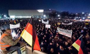 Сторонники ПЕГИДА провели акцию в Дрездене