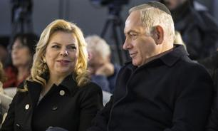 Жена премьера Израиля в Киеве бросила на пол каравай с хлебом и солью