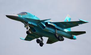 Бомбардировщики Су-34 в ходе учений прорвались к Воронежу, несмотря на С-300