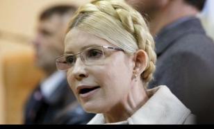 Тимошенко объявила о разработке плана по возвращению Крыма и Донбасса