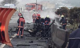 Все подробности: вертолет с россиянами рухнул в Стамбуле