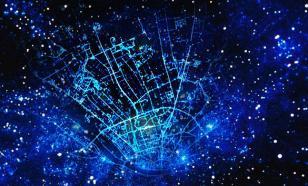 Очевидное-невероятное: В Томске рисунок улиц неожиданно отразился в ночном небе