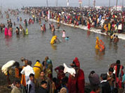Ганг — священная река, текущая по небесам