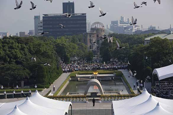 Делегация из России принимает участие в мероприятиях в память 70-летия бомбардировок Хиросимы и Нагасаки