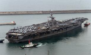 Китай не пустил в Гонконг авианосец США