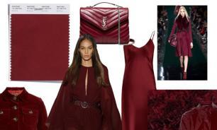 Красная груша: Специалисты дизайна об актуальных цветах гардероба этой зимы