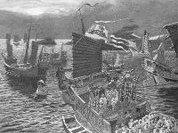 Флот монгольского хана потопил камикадзе