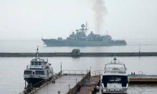 Украинское судно, спасенное кораблем ВМФ РФ, задержали в Греции по подозрению в контрабанде