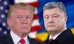 На Украине задумались, почему США не афишируют встречу Трампа с Порошенко