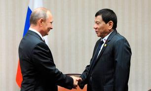 """Дутерте: Филиппины готовы """"сотрудничать со своими новыми друзьями"""""""