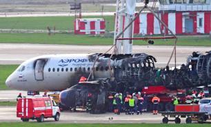 Пилот сгоревшего Superjet отверг обвинения в допущенных ошибках
