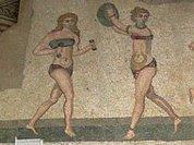 Древние римлянки наряжались от-кутюр