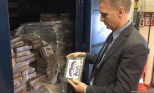 """СМИ: в Европе нашли 2 тонны кокаина с логотипом """"Единой России"""""""
