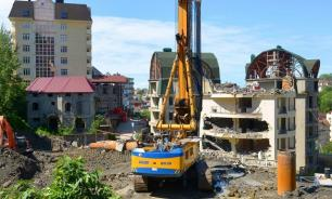 Власти Сочи готовы оставить самострои с уже купленными квартирами