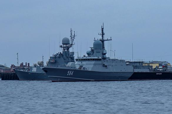 """Новейший ракетный корабль """"Одинцово"""" вышел в море для испытаний"""