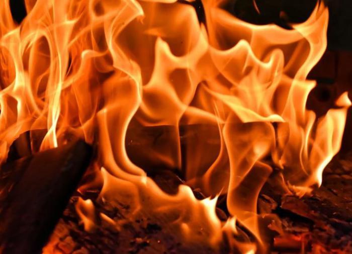 Под Курском мать пыталась сжечь сына заживо