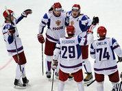 Российские хоккеисты разгромили датчан
