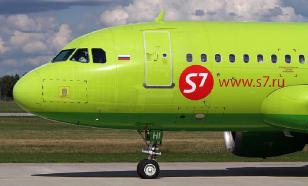 S7 перевозит медицинские грузы в пассажирских самолетах