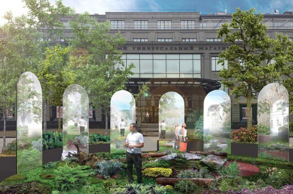Итальянские дизайнеры обустроят на Кузнецком мосту иммерсивный сад