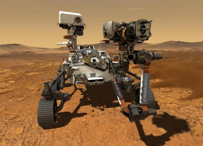 Марсоход Curiosity обнаружил следы гигантского потопа