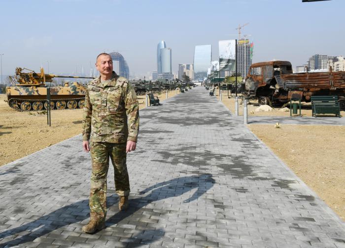 """""""Унижение памяти"""": парк военных трофеев в Баку не понравился Еревану"""