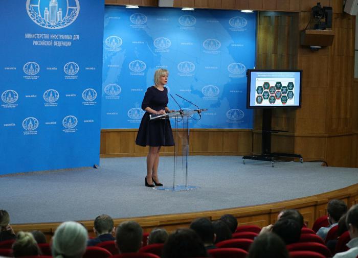 Всякому терпению наступает конец: Захарова о жалобе РФ в ЕСПЧ