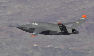 Экспериментальный боевой беспилотник ВВС США сдуло ветром