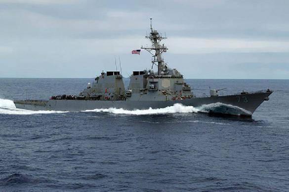 """Зачем эсминец """"Джон Маккейн"""" прорывал границу России?"""