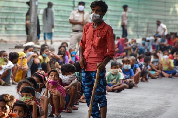 Почти четыре тысячи новых случаев COVID-19 за сутки выявили в Индии
