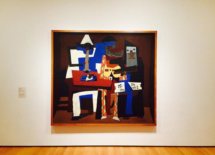 Почему Пикассо закрашивал изначальные произведения?