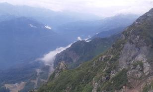 В горах близ Сочи ищут пропавшую группу туристов, среди которых 8 детей