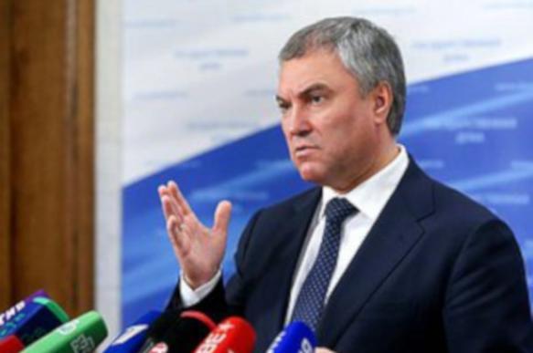 Володин: дипломаты раздавали методички протестующим в Москве