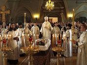 Прощание с Евгением Примаковым проходит в Новодевичьем монастыре