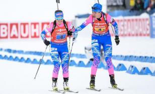 Назван состав сборной России на эстафетные гонки ЧМ по биатлону