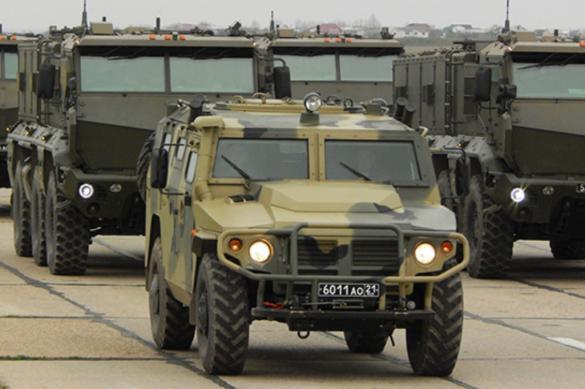 В Севастополе в параде Победы примут участие 87 боевых машин
