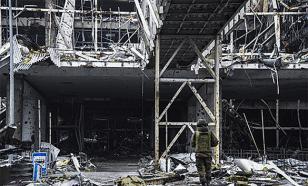 Украинские силовики обстреляли донецкий аэропорт из минометов