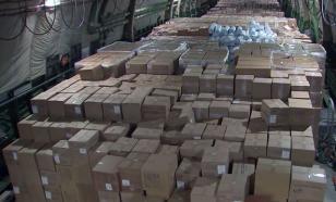 США отправили в Россию оборудование для борьбы с коронавирусом