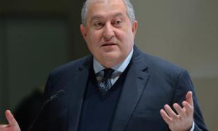 Президент Армении приехал в Москву для встречи с диаспорой